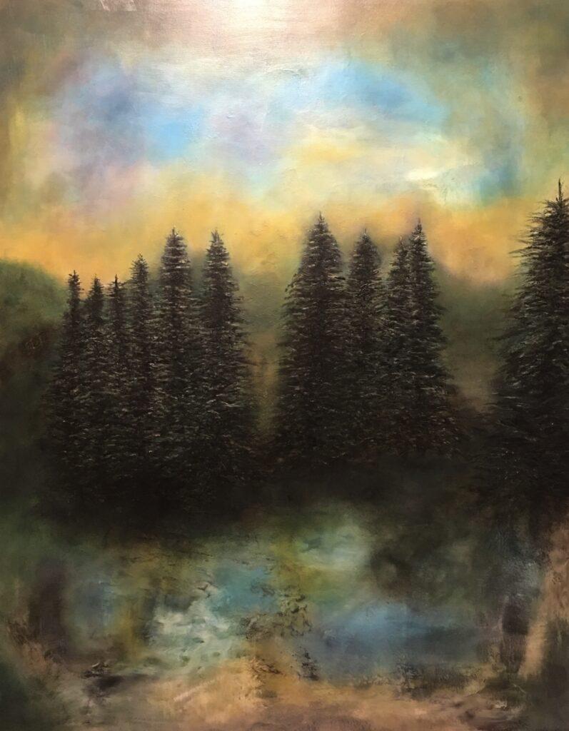 Mona sitt arbeid til Amatoerutstillingen
