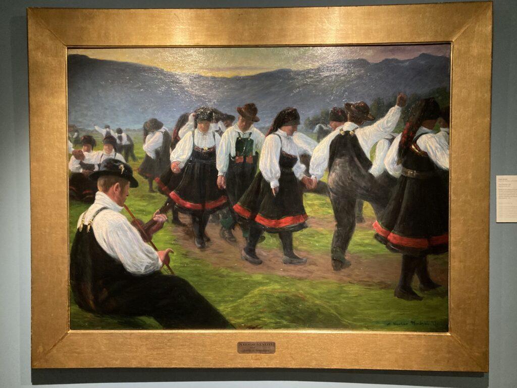 Gustav Wentzel - Dans i Setesdal